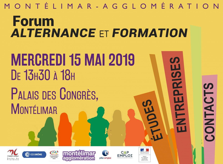 0cbc77834ae Forum de l Alternance et de la Formation    Montelimar Agglomération