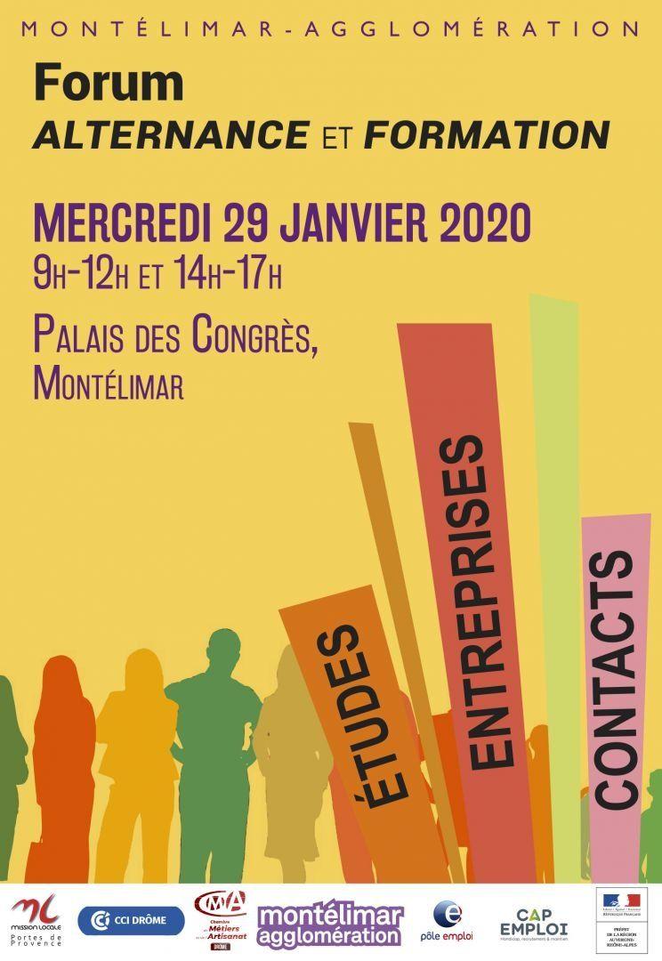 Forum Alternance et Formation le 9 janvier :: Montelimar